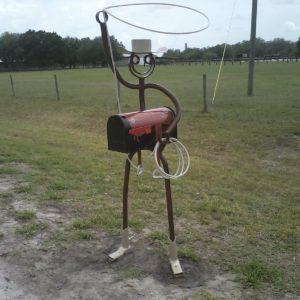 Cowboy mailbox $1,900