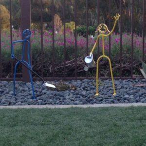 Mini garden dudes $325 each