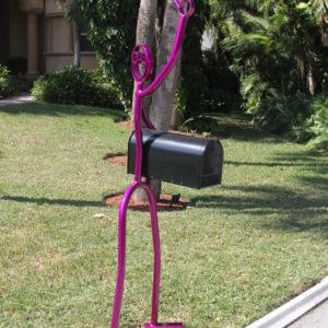 Purple mail box $1,500