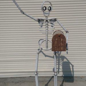 Skelaton mailbox $1,900