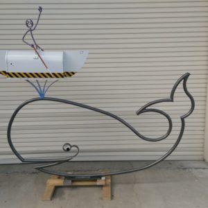 Whale mailbox $2,100