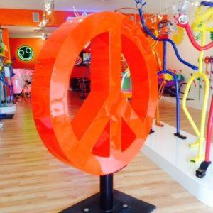 peace sign 48%22 $7,000